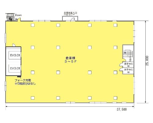 厚木市 小田急小田原線本厚木駅の貸工場・貸倉庫画像(4)