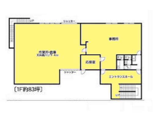 横浜市旭区 相鉄線鶴ヶ峰駅の貸倉庫画像(1)