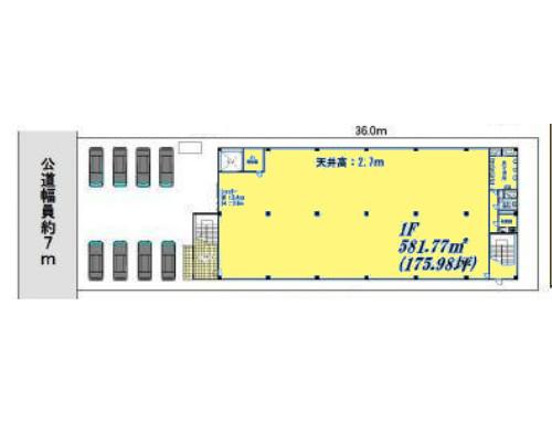 横浜市港北区 ブルーライン北新横浜駅の貸工場・貸倉庫画像(1)