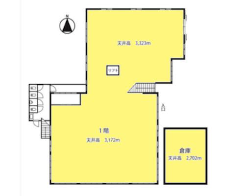 相模原市中央区 JR横浜線淵野辺駅の貸工場・貸倉庫画像(1)