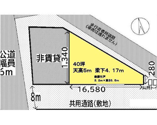 横浜市都筑区 JR横浜線鴨居駅の貸工場・貸倉庫画像(1)