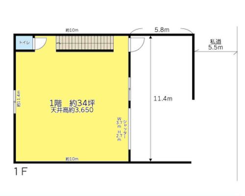 横浜市都筑区 JR横浜線中山駅の貸工場・貸倉庫画像(1)