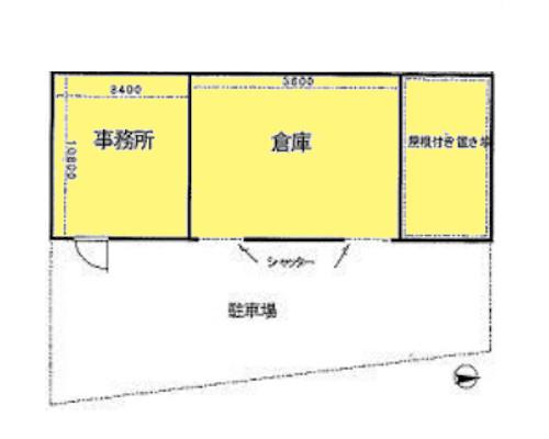 川崎市中原区 東急東横線徒歩18分の貸倉庫画像(1)