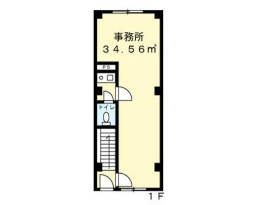 相模原市中央区 JR横浜線相模原駅の貸事務所画像(1)
