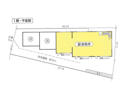 綾瀬市 小田急小田原線海老名駅の貸工場・貸倉庫画像(1)