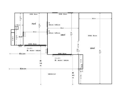 三郷市 つくばエクスプレス八潮駅の貸工場・貸倉庫画像(2)