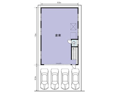 川口市 JR京浜東北線蕨駅の貸倉庫画像(1)