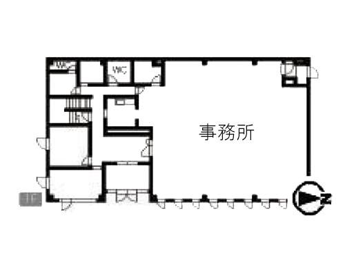 越谷市 JR武蔵野線越谷レイクタウン駅の貸事務所画像(1)