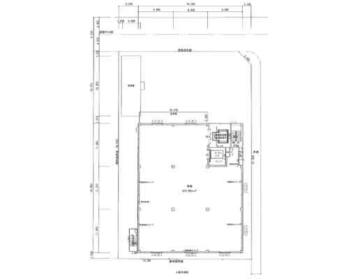 八潮市 つくばエクスプレス八潮駅の貸工場・貸倉庫画像(2)