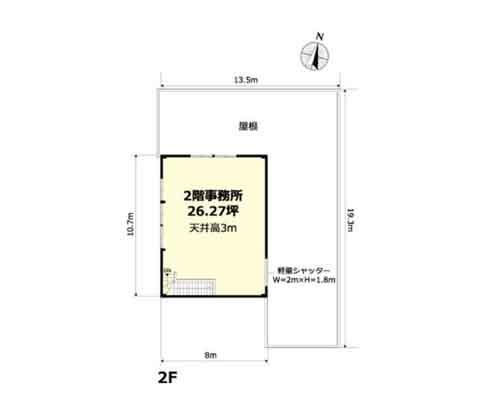 さいたま市中央区 JR埼京線北与野駅の貸工場・貸倉庫画像(2)