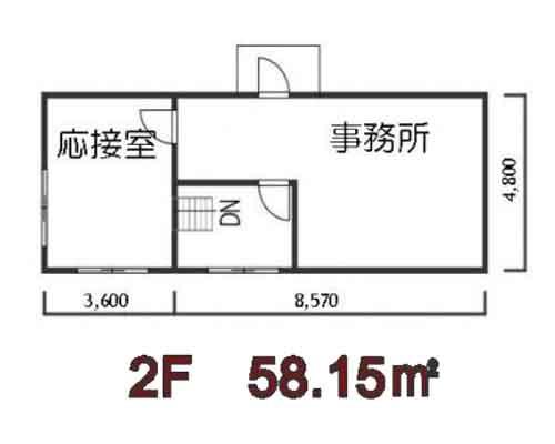 入間郡三芳町 東武東上線柳瀬川駅の貸倉庫画像(2)