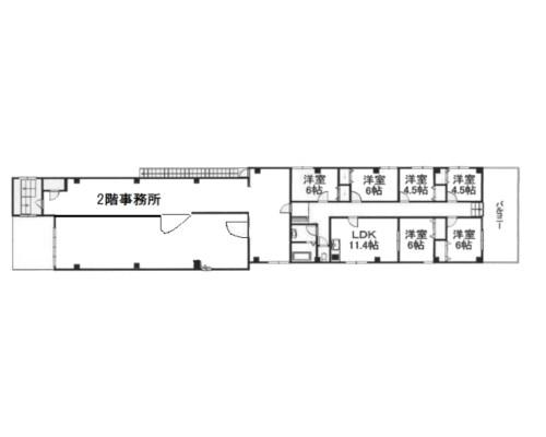 川口市 埼玉高速鉄道戸塚安行駅の貸工場・貸倉庫画像(2)