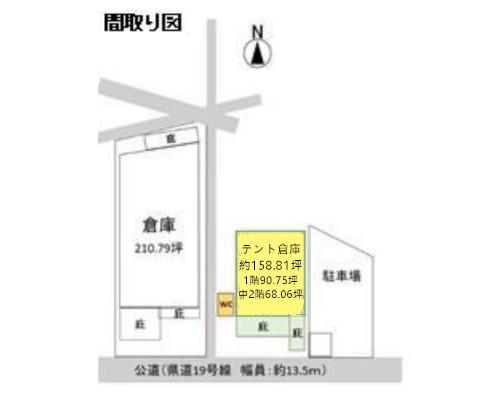 吉川市 東武野田線野田市駅の貸倉庫画像(1)