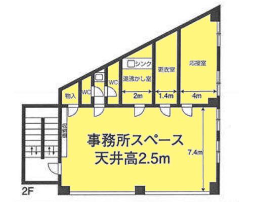 川口市 埼玉高速鉄道新井宿駅の貸倉庫画像(2)