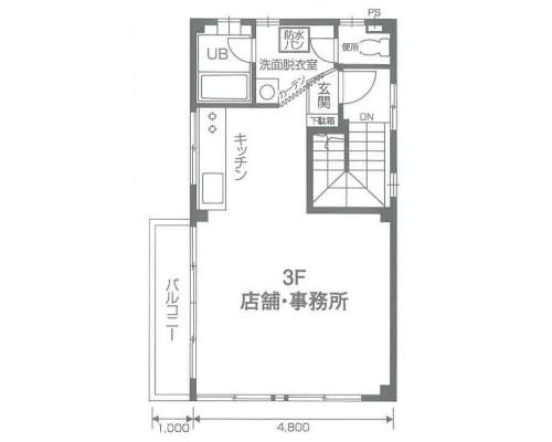 川口市 JR京浜東北線西川口駅の貸倉庫画像(3)