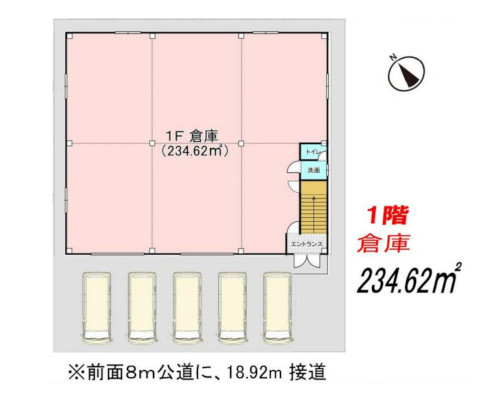 上尾市 JR高崎線北上尾駅の貸工場・貸倉庫画像(1)