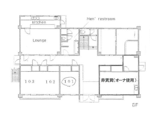 川越市 西武新宿線本川越駅の貸寮画像(1)
