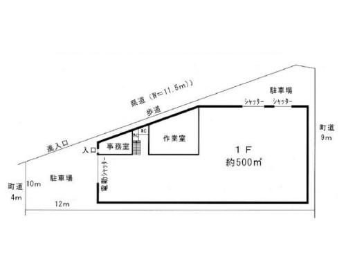 児玉郡神川町 JR八高線丹荘駅の貸倉庫画像(1)