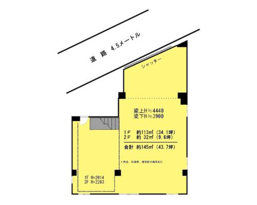 荒川区 都電荒川線三ノ輪橋駅の貸倉庫画像(1)