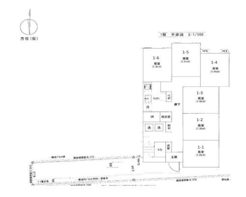練馬区 西武新宿線野方駅の貸寮画像(1)