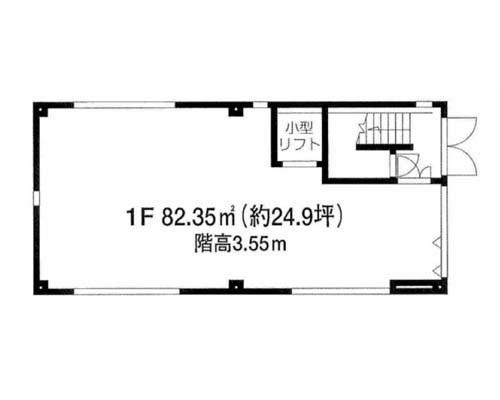 目黒区 東急東横線祐天寺駅の貸事務所画像(1)