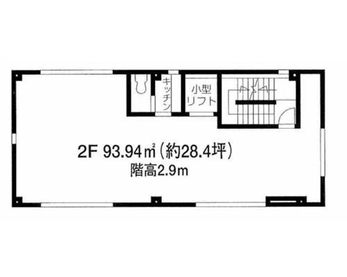 目黒区 東急東横線祐天寺駅の貸事務所画像(2)
