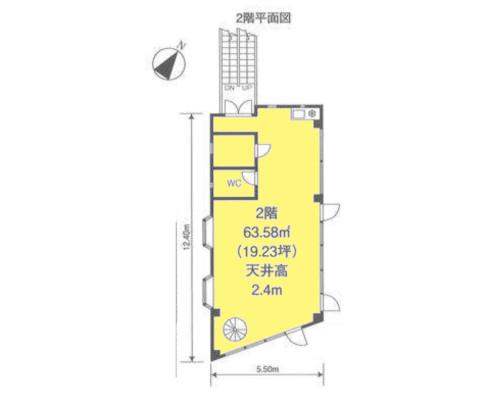 板橋区 都営三田線志村坂下駅の貸工場・貸倉庫画像(2)