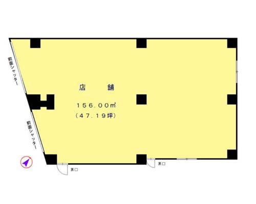 清瀬市 西武池袋線清瀬駅の貸事務所画像(1)