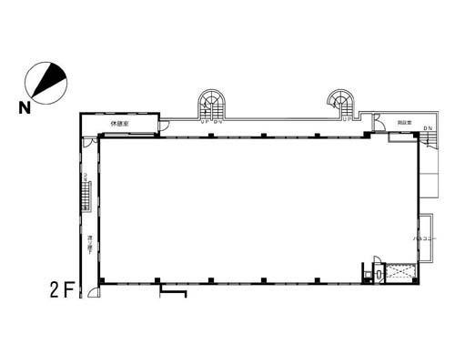 葛飾区 京成本線堀切菖蒲園駅の貸事務所画像(2)