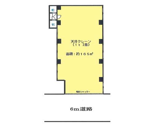 葛飾区 京成本線お花茶屋駅の貸工場・貸倉庫画像(1)