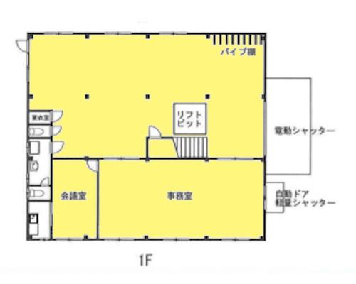 小平市 JR中央本線武蔵小金井駅の貸倉庫画像(1)