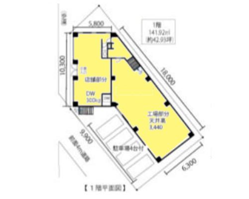府中市 京王線東府中駅の貸倉庫画像(1)