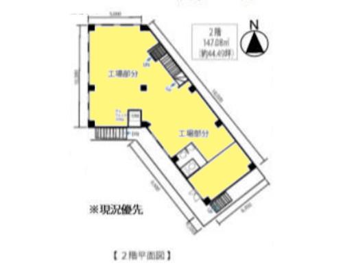 府中市 京王線東府中駅の貸倉庫画像(2)