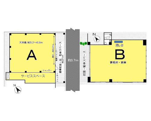 文京区 東西線早稲田駅の貸工場・貸倉庫画像(1)