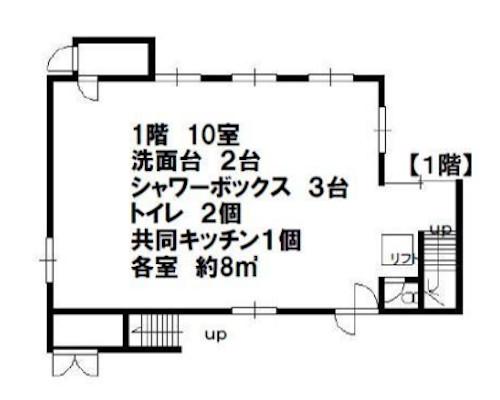 荒川区 JR山手線西日暮里駅の貸寮画像(1)