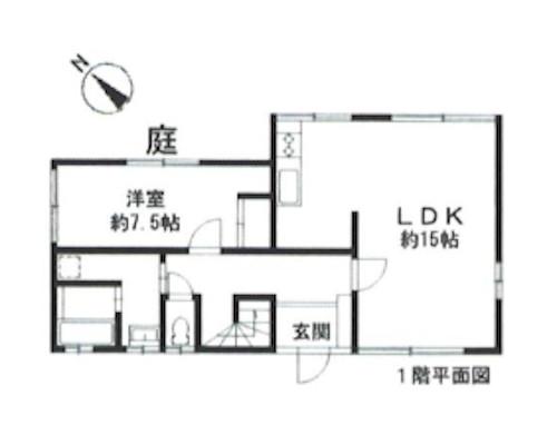 目黒区 東急東横線中目黒駅の貸寮画像(1)