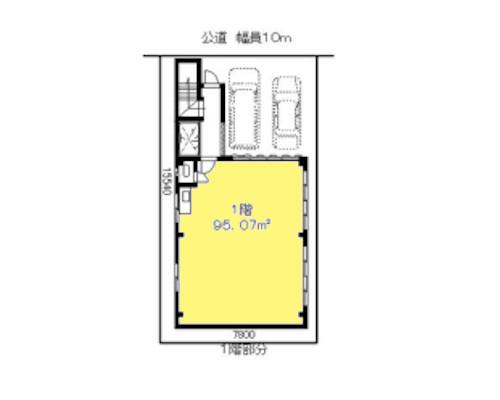 足立区 日暮里・舎人ライナー江北駅の貸工場・貸倉庫画像(1)