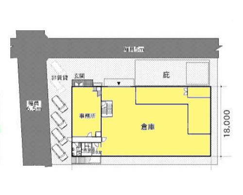 大田区 京急空京急大鳥居駅の貸工場・貸倉庫画像(2)