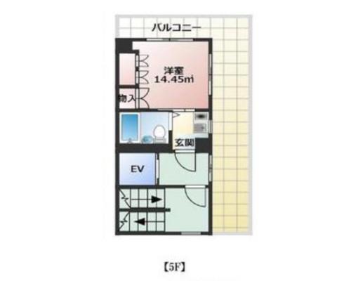 中央区 都営新宿線浜町駅の貸事務所画像(3)
