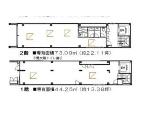 中央区 JR総武本線馬喰町駅の貸事務所画像(1)