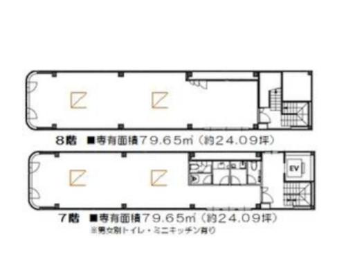 中央区 JR総武本線馬喰町駅の貸事務所画像(4)