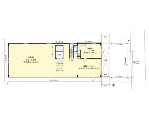 武蔵村山市 西武拝島線西武立川駅の貸倉庫画像(1)