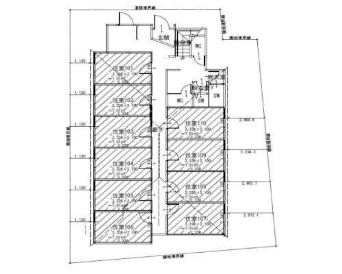 板橋区 都営志村坂上駅の貸寮画像(1)