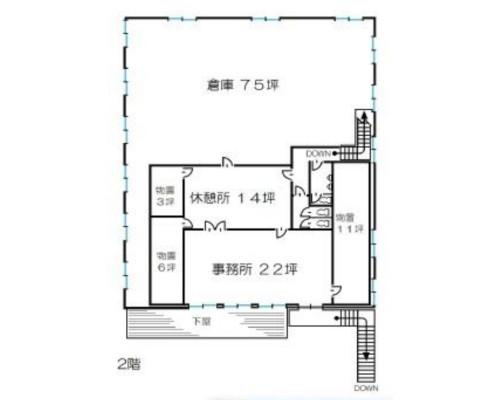西多摩郡瑞穂町 JR八高線箱根ヶ崎駅の貸工場・貸倉庫画像(2)