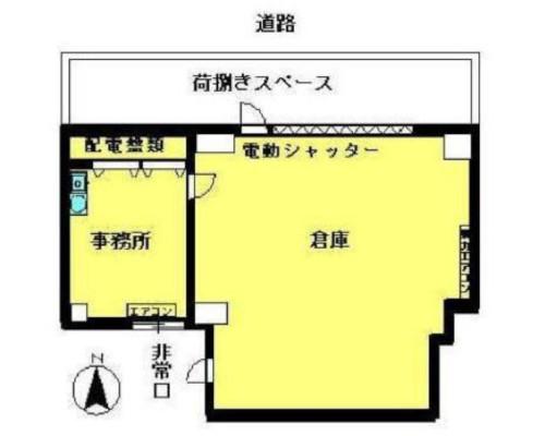 荒川区 JR常磐線三河島駅の貸倉庫画像(1)