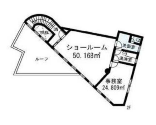 世田谷区 東急大井町線等々力駅の貸事務所画像(2)