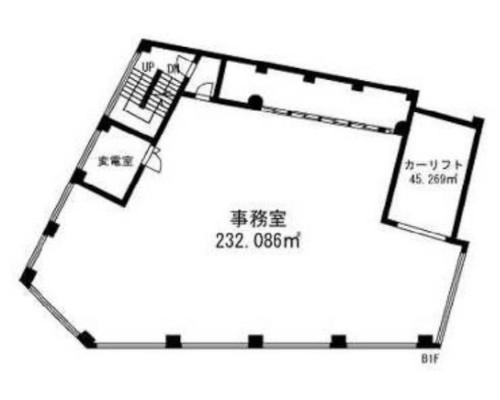 世田谷区 東急大井町線等々力駅の貸事務所画像(3)