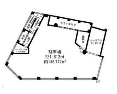 世田谷区 東急大井町線等々力駅の貸事務所画像(4)
