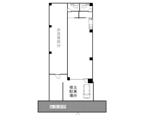 渋谷区 JR山手線原宿駅の貸倉庫画像(1)