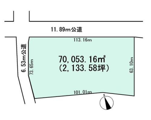 千葉市若葉区 千葉都市モノレール1号線千城台駅の貸地画像(1)